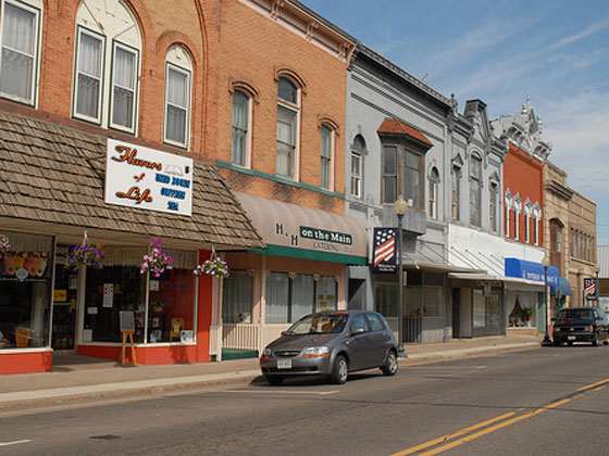 Neillsville downtown