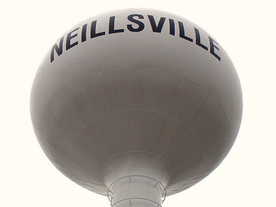 Neillsville watertower