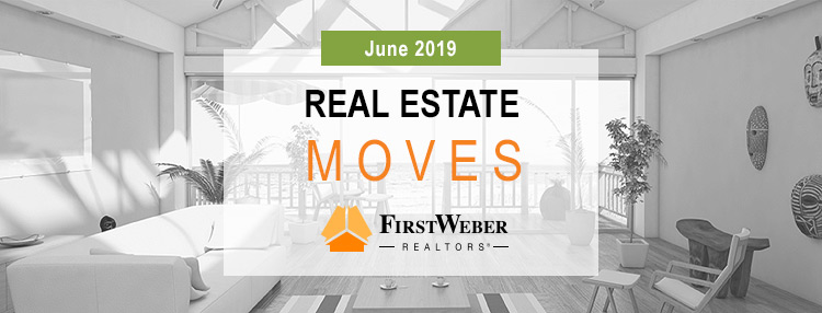 Real Estate MOVES from First Weber Realtors, June 2019