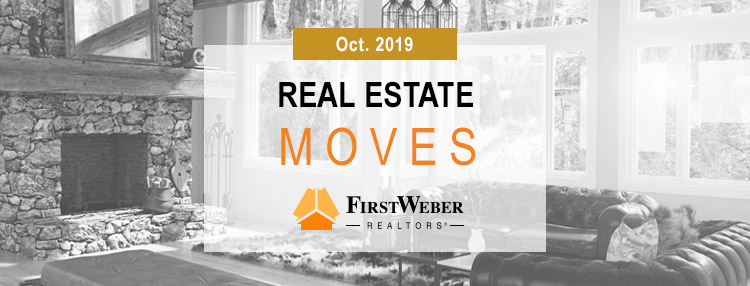 Real Estate MOVES from First Weber Realtors, Oct. 2019