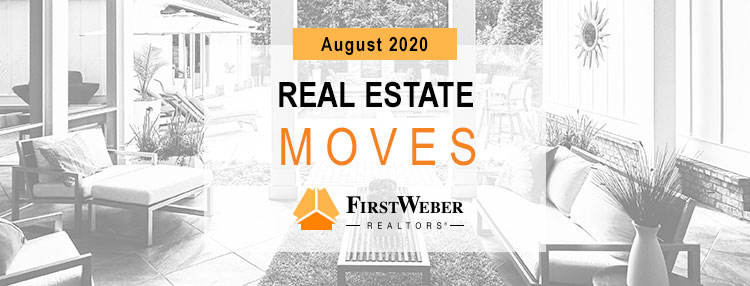 Real Estate MOVES from First Weber Realtors, June 2020