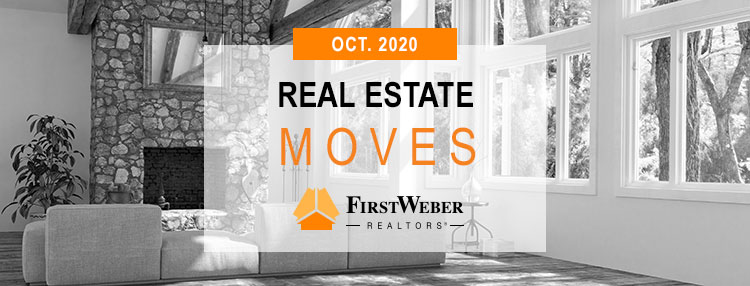 Real Estate MOVES from First Weber Realtors, October 2020