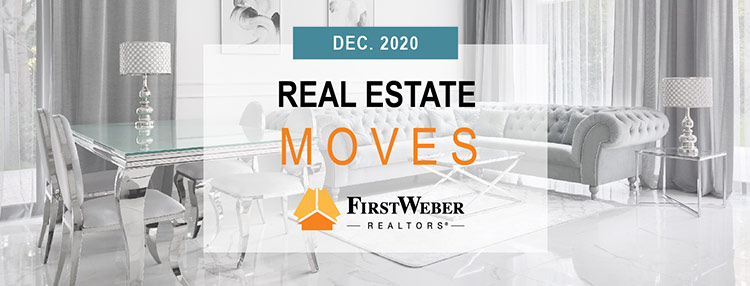Real Estate MOVES from First Weber Realtors, December 2020