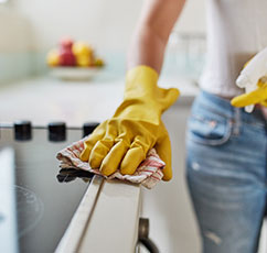 Photo of house cleaning